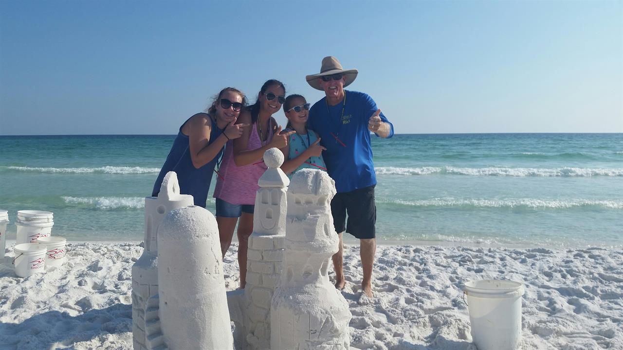 Best Sandcastle Builder In Destin